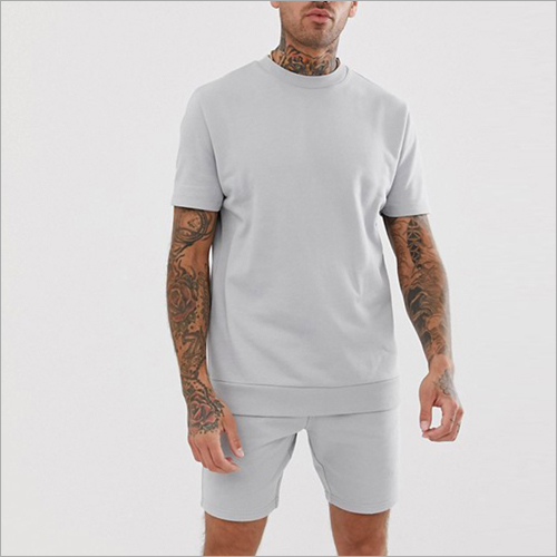 Mens Round Neck Plain T-Shirt
