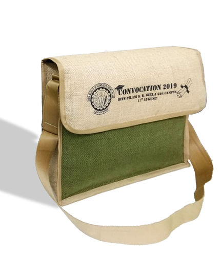 Caris Convocation Messenger Jute Bag