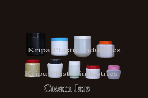 Plastic Cream Jars