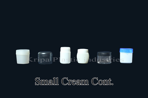 Small Cream Container