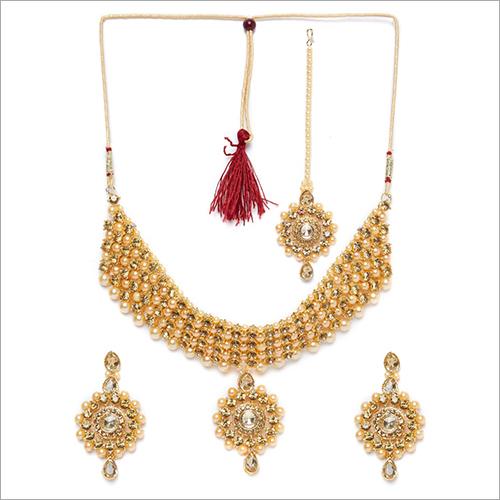 Imitation Patwa Necklace Set