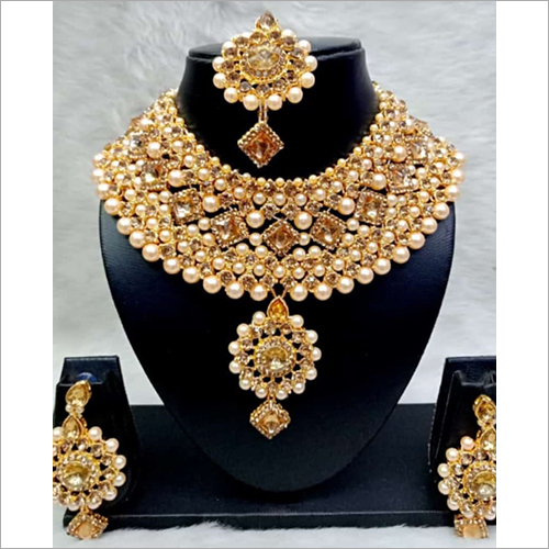 Patwa Bridal Necklace Set
