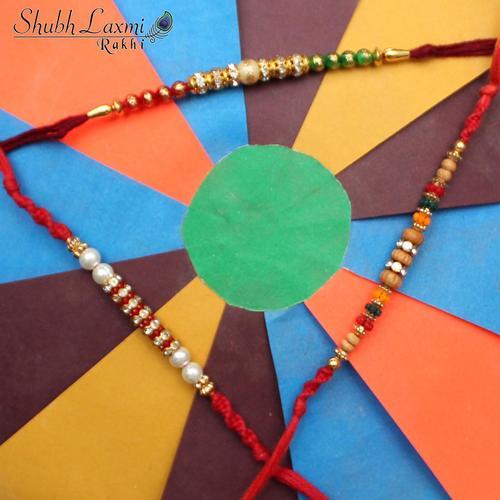 Designer Moti Rakhi