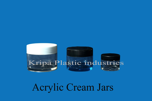 Acrylic Cream Jars