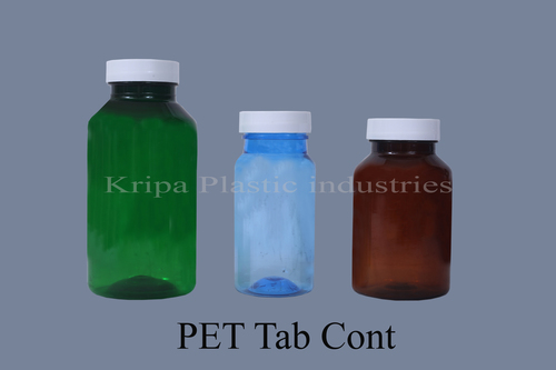 PET Tablet Container