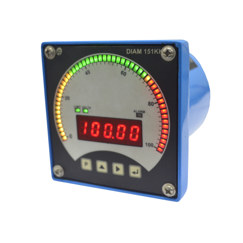 DIAM 151KK - Digital Panel Meter with Bargraph Indication