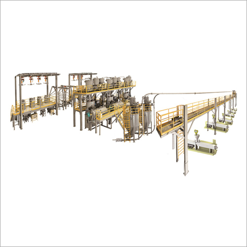 Automatic Metering-Mixing & Chain Conveying System