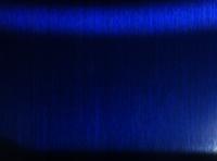 Blue Hairline Finish