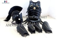 300 spartan helmet Maximus MUSCLE ARMOR & 300 HELMET & LEATHER LEG & ARM GURD by NauticalMart