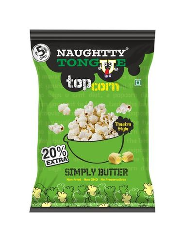 Naughty Tongue Simply Butter Popcorn