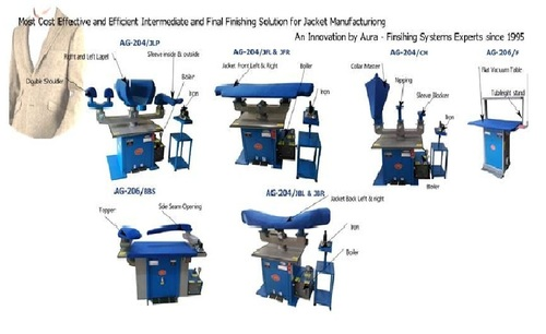 Jacket Pressing Machine