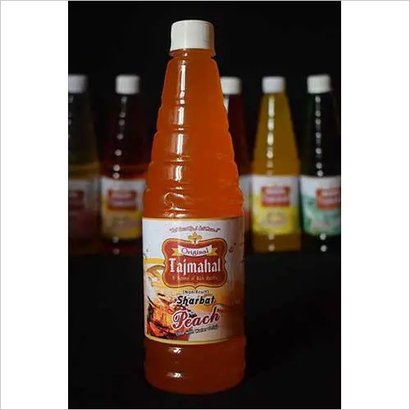 Peach Syrup Alcohol Content (%): Nill