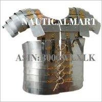 Roman Lorica Segmentata Body Armor Breast Plate Full Size