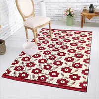 Chenille Printed Floor Carpet