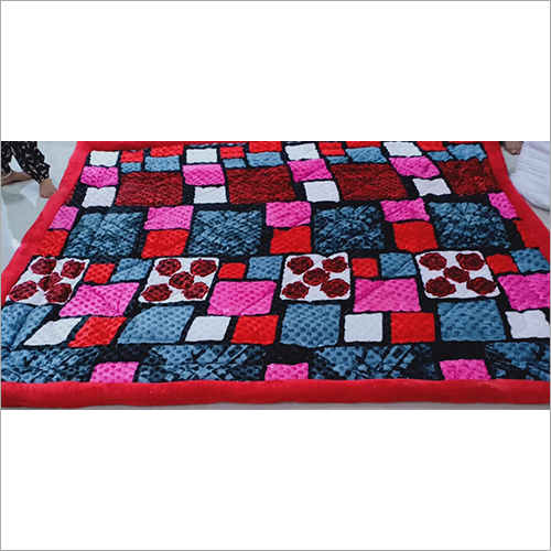 Multi Color Woolen Quilt