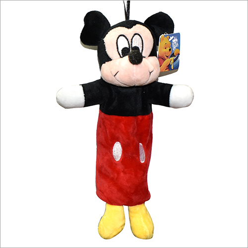 Mikkey Mouse Character Soft Pouch