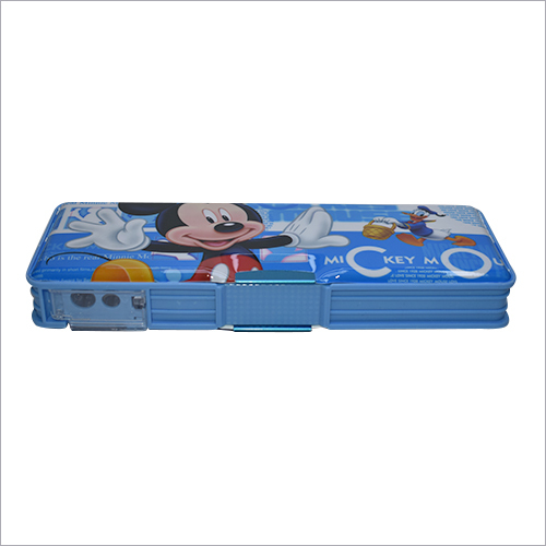 Designer Mickey Mouse Pencil Box With LED Light