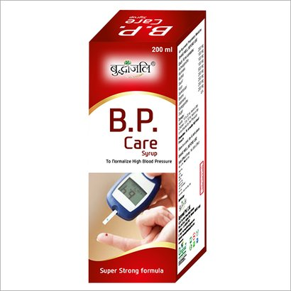 B.P. Care Syrup Age Group: For Children(2-18Years)