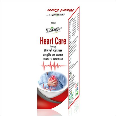 Heart Care Syrup Age Group: For Adults
