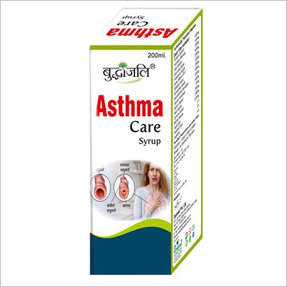 Asthma Care Syrup Age Group: For Adults