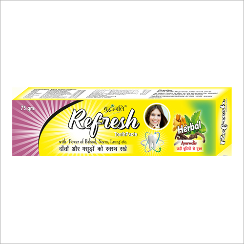 Organic Ayurvedic Toothpaste