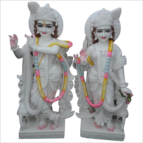Marble Radha Krishna Ji