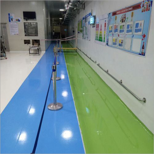 Solid Solventless Epoxy Floor Coating Service