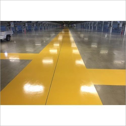 Epoxy Floor Marking Service