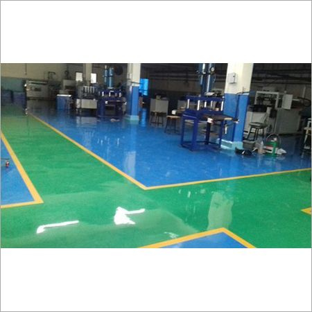 Colored Epoxy Flooring