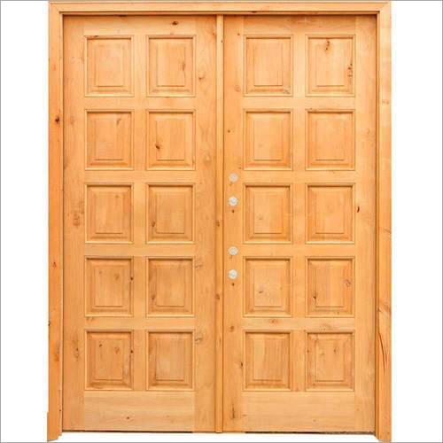 Exterior Pine Wood Door