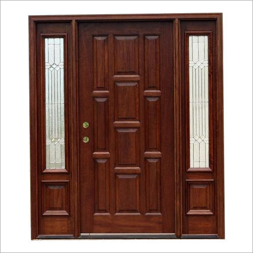 Decorative Teak Wood Door