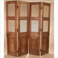 Teak Wood Folding Door