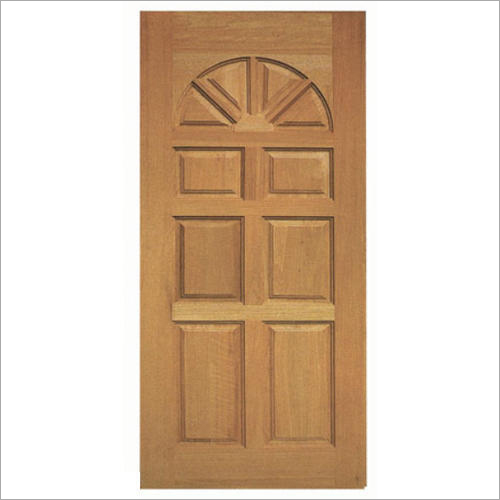 Rectangular Wooden Door