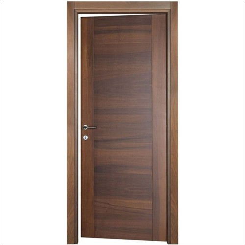 Brown Decorative Wooden Door