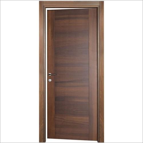Brown Decorative Wooden Door