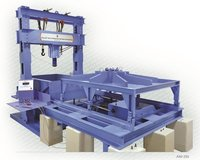 Large Pull Out Test Apparatus for Geo Synthetics