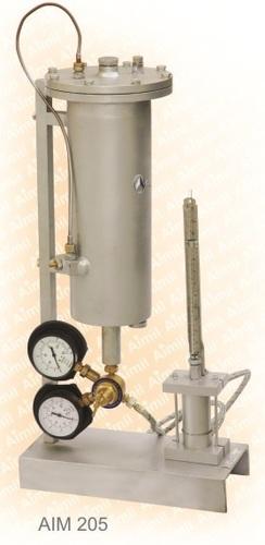 Miniature High Pressure Permeameter