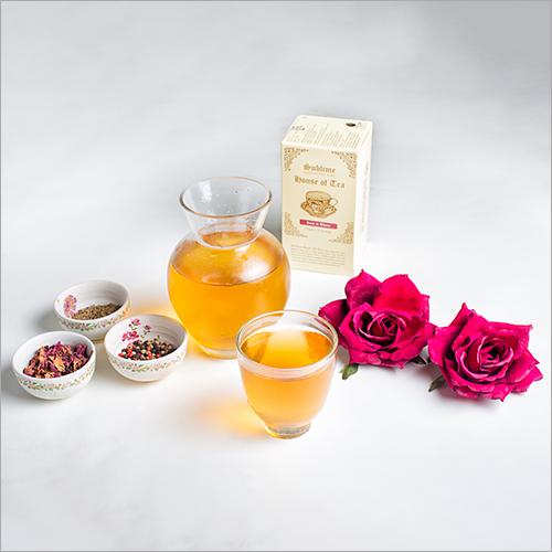 Organic Rose Bloom Black Tea