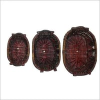 Wooden Basket Set