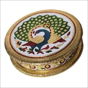 Round Shape Metal Dry Fruit Box