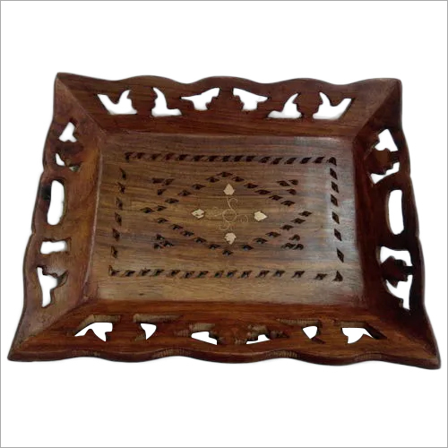 Wooden Designer Serving Tray