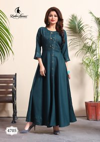 Rayon Gown