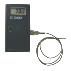 Hand Held Digital Thermometer  Battery Operated Temperature Indicator