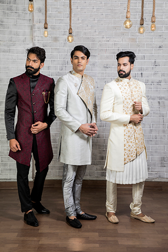 Sherwani Indo Western for Men's