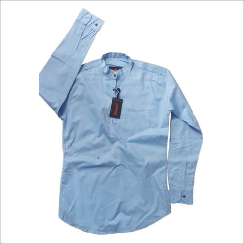 Mens Formal Sky Blue Shirt