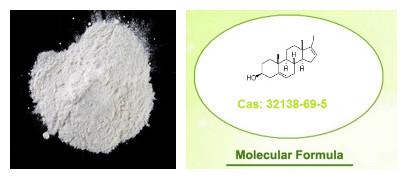 Organic Intermediate 17-Iodoandrosta-5,16-dien-3beta-ol 32138-69-5