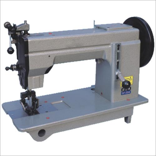 Double Needle Bottom Feed Moccasin Sewing Machine