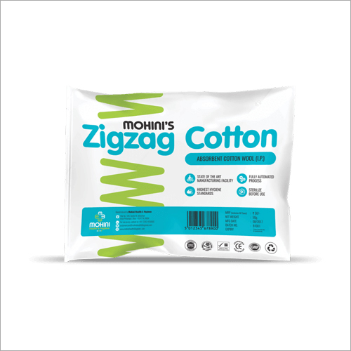 Zig-Zag Cotton Wool