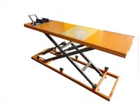 Hydraulic Two Wheeler Service Ramp