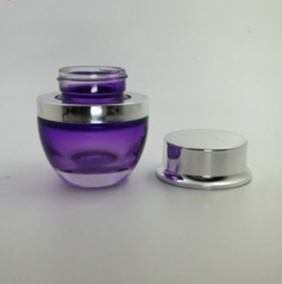 Glass Cosmetic Container